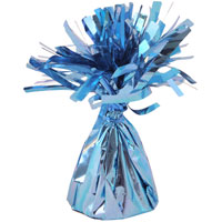 Balloon Foil Table Weight Blue