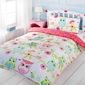 Childrens Fun Filled Bedding - Owl & Friends