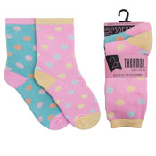Girls Thermal Spot Design Socks
