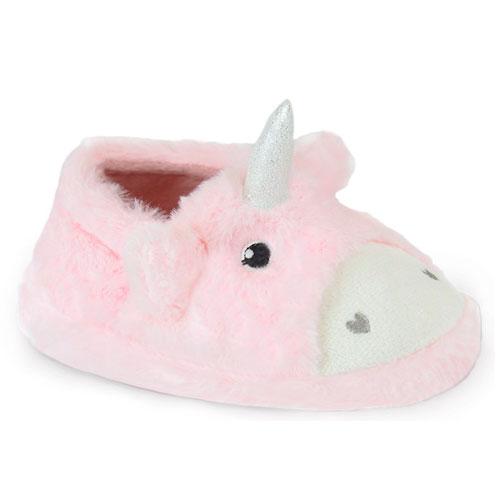 Girls Unicorn Slippers