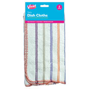 Terry Dish Cloths 5 Pack