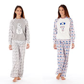 Ladies Snow Polar Bear Pyjama Set