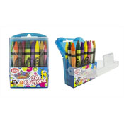 24 Childrens Crayons Animal Antics