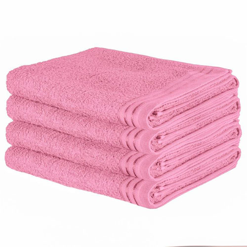 Luxury Wilsford Cotton Bath Sheet Blush Pink