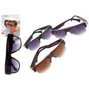 Adults Classic Style Frame Plastic Sunglasses