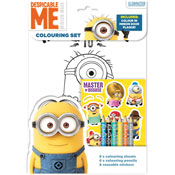Despicable Me Colouring Set
