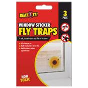 Fly Trap Window Sticker 3 Pack