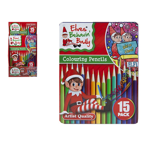 Elf Deluxe Colouring Pencils 15 Pack