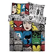 Official Marvel Comics Tones Reversible Duvet Set