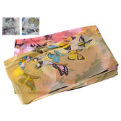Butterfly Pastel Print Scarves