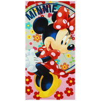 Official Minnie Mouse Flowers Beach Towel