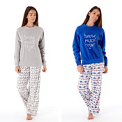 Ladies Snow Much Fun Pyjama Set