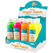 Neon Finger Paint 200ml