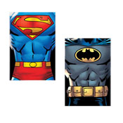 DC Comics Batman & Superman Fleece Blanket