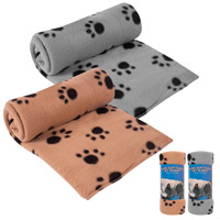 Paw Print Pet Blanket