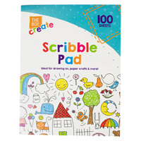 100 Sheet Scribble Pad