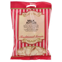 Milk Bottles Traditional Sweets 150g Bag