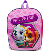 "Junior Girls Paw Patrol ""Is on a Roll"" Backpack"
