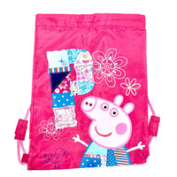 Official Peppa Pig Patchwork Pull String Bag