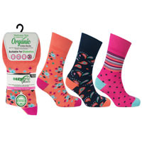 Ladies Wellness Organic Cotton Socks Miami