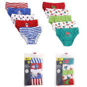 Boys Pirate & Dinosaur Briefs