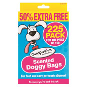 Scented Doggy Bags 225 Pack