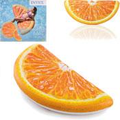 Inflatable Orange Slice Pool Mat