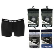 Mens Umbro Button Fly Boxer Shorts Denim