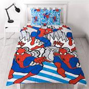Spiderman Popart Reversible Duvet Set