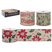 Christmas Luxury Classic Decorative Ribbon Assorted