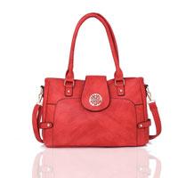 Violet Tote Bag Red