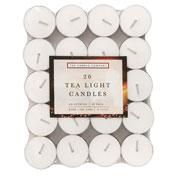 Tea Light Candles 20Pcs