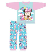 Girls Toddler Minnie Mouse Snuggle Fit Pyjama Set
