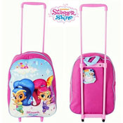 Shimmer & Shine Trolley Bag Carton Price