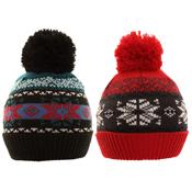 Kids Assorted Winter Bobble Hats