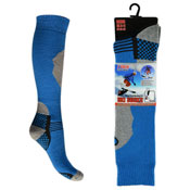 Mens High Performance Ski Socks Checked