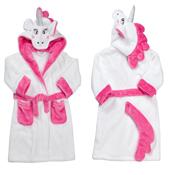 Toddlers Novelty Plush Unicorn Robe