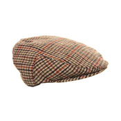 Childrens Flat Caps Tweed