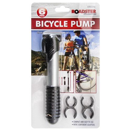 Bicycle Pump 6 Piece