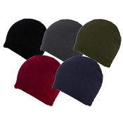 Ladies Fleece Beanie Hat With Cosy Liner