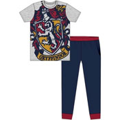 Mens Harry Potter Gryffindor Pyjama Set