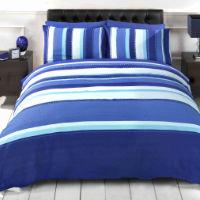 Finest Homeware Detroit Blue Duvet Set