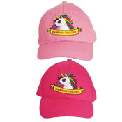 Childrens Unicorn Design Baseball Cap