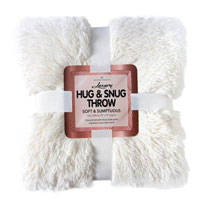 Hug And Snug Throw Cream