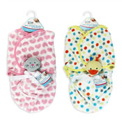 First Steps Baby Swaddle Blanket & Comforter