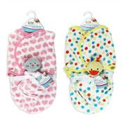 First Steps Baby Swaddle Blanket & Comforter