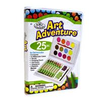 25 Piece Adventure Art Set