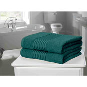 Windsor Egyptian Combed Cotton Bath Towel Teal