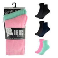 Kids Twin Pack Thermal Socks
