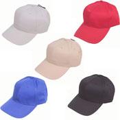 6 Panel Baseball Cap Assorted